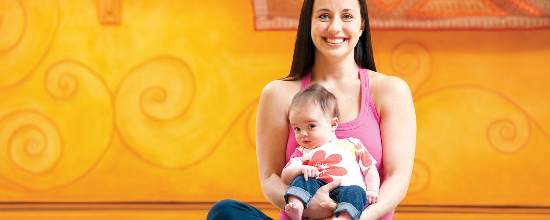 Ellis Medicine maternity baby on lap main image