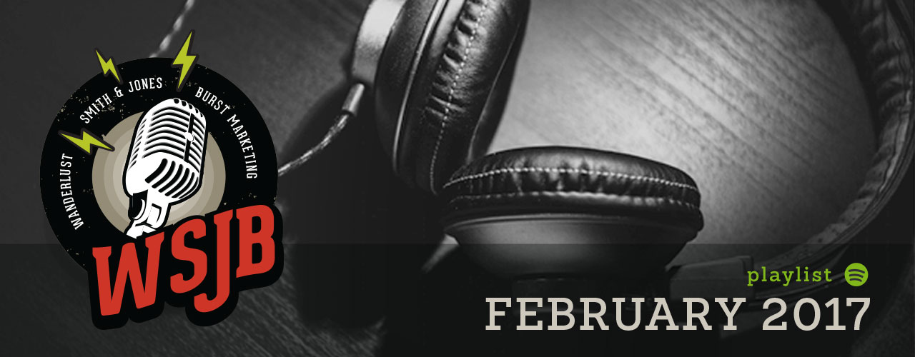 February Spotify Playlist Image
