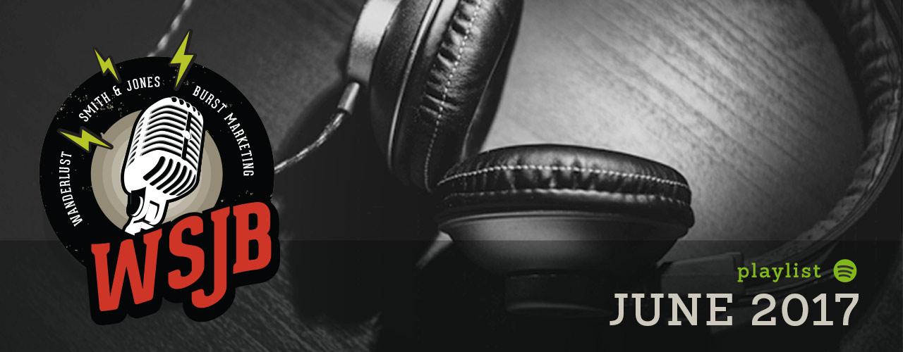 June 2017 Spotify Playlist Header