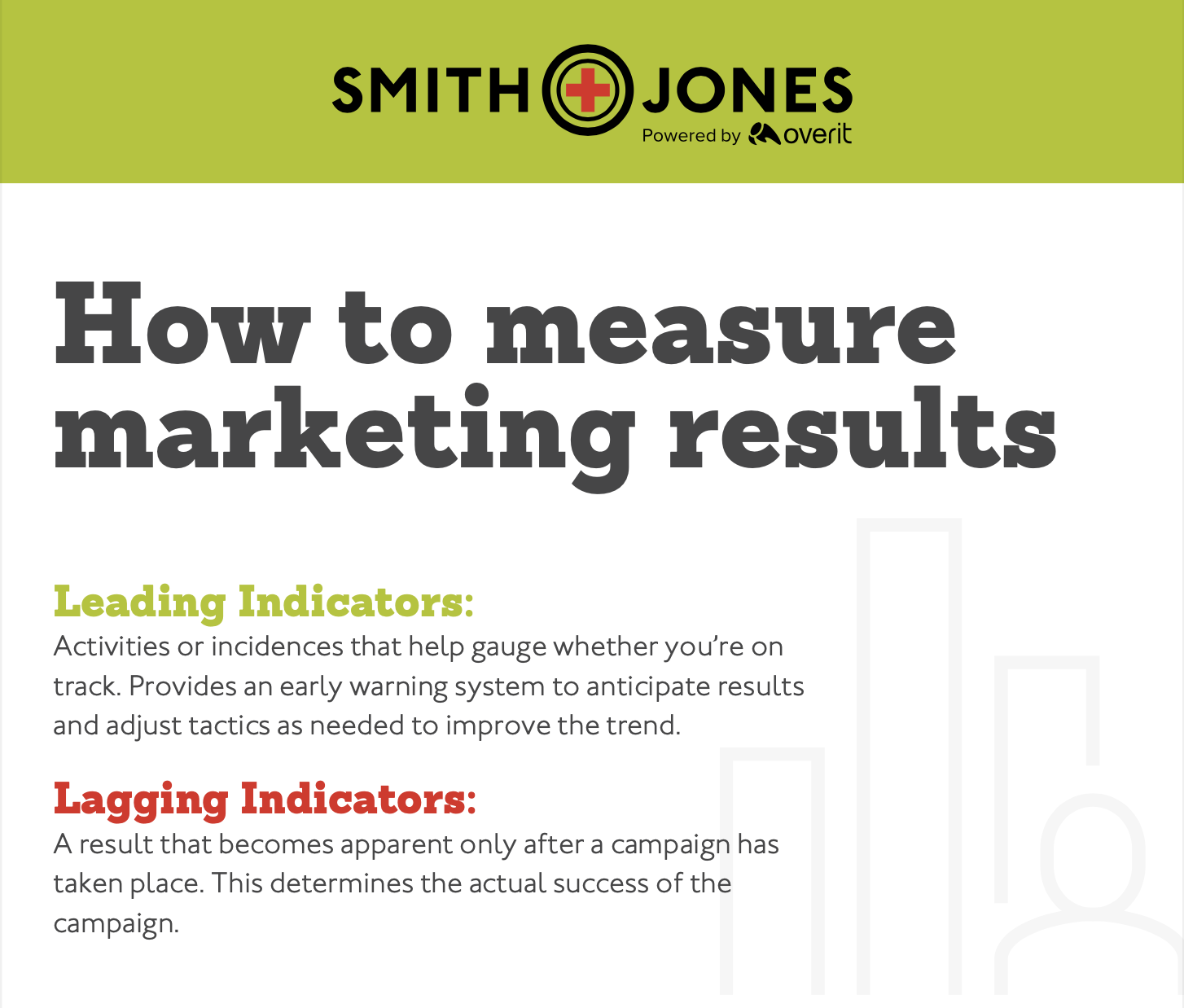 How to measure marketing results infographic